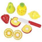 Obst mit Klettverbindung Spielküche Set