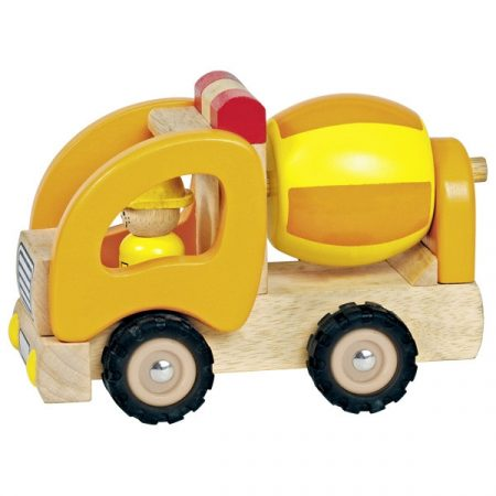 Betonmischer, Holzspielzeug