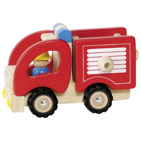 Fire Engine, Wooden toy