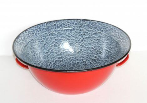 Emaille Schüssel, Rot (34 cm - 4 L)