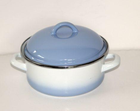 Enamel Pot Blue-White, 18 cm - 1,75 L