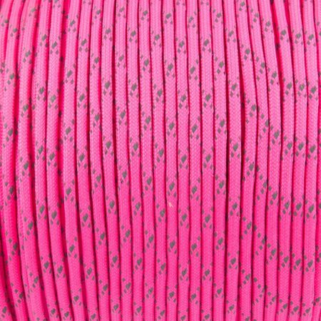 REFLECTIVE BRIGHT PINK (Paracord 550 Reflective)