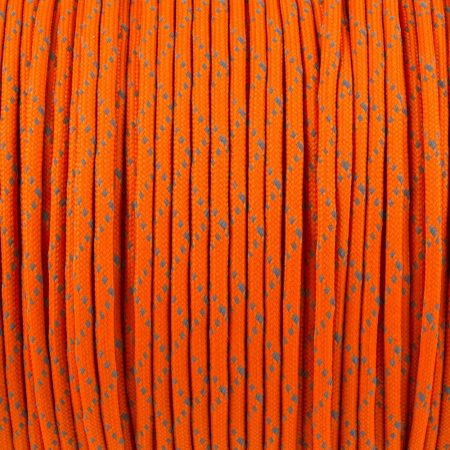 REFLECTIVE ORANGE (Paracord 550 Reflective)