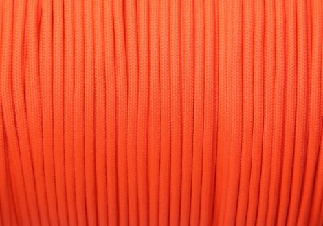 FLUOR ORANGE (Paracord 550 Standard)