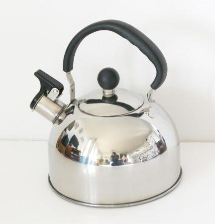 Tea kettle 2 L stainless steel