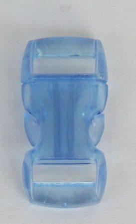 """Schnellverschluss - 10 mm - """"Jelly Colored"""" - Hellblau"""