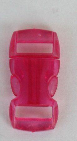 """Schnellverschluss - 10 mm - """"Jelly Colored"""" - Pink"""