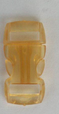 """Schnellverschluss - 10 mm - """"Jelly Colored"""" - Gelb"""