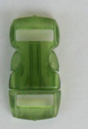 """Schnellverschluss - 10 mm - """"Jelly Colored"""" - Grün"""